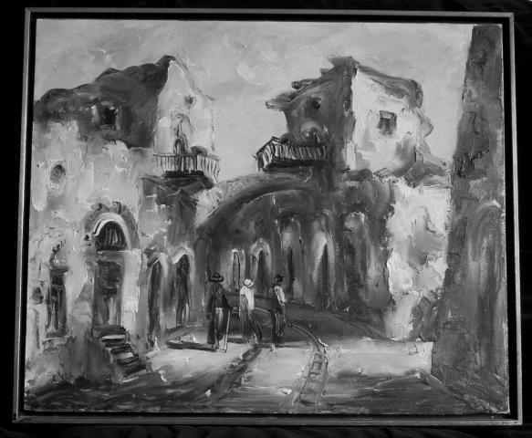 Edith Meisl-Bernhard. 'Untitled' 1965(?) tonal image