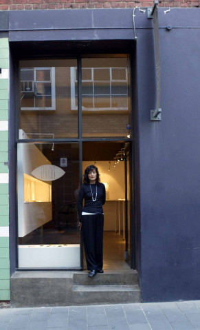 Mari Funaki outside Gallery Funaki