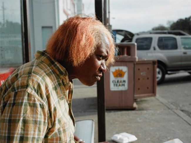 Paul Graham (English, b. 1956) 'New Orleans 2004 (Woman Eating)' from the series 'a shimmer of possibility'