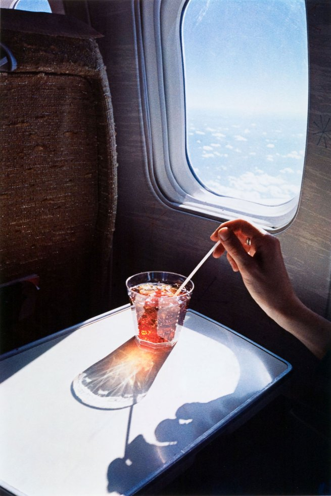 William Eggleston. 'Untitled (glass on plane)' 1965-1974