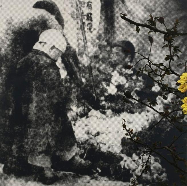 John Young(Australian, born Hong Kong 1956) 'Flower Market (Nanjing 1936) #3' 2010
