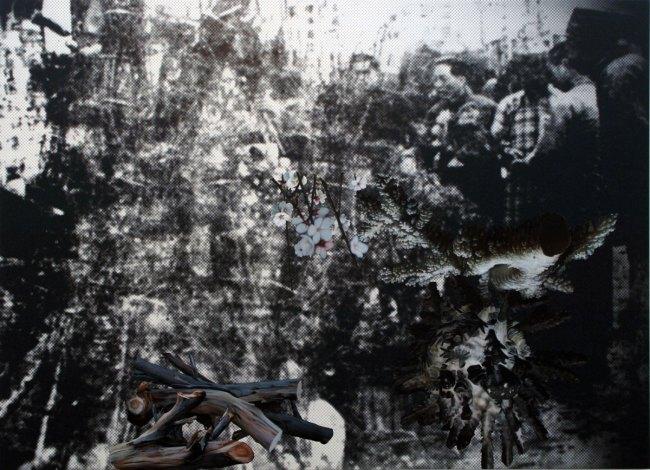 John Young(Australian, born Hong Kong 1956) 'Flower Market (Nanjing 1936) #1' 2010