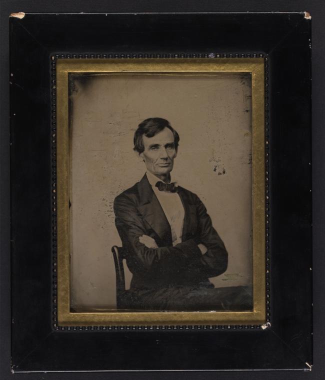 Preston Butler. 'Abraham Lincoln' August 13, 1860 Springfield, Illinois