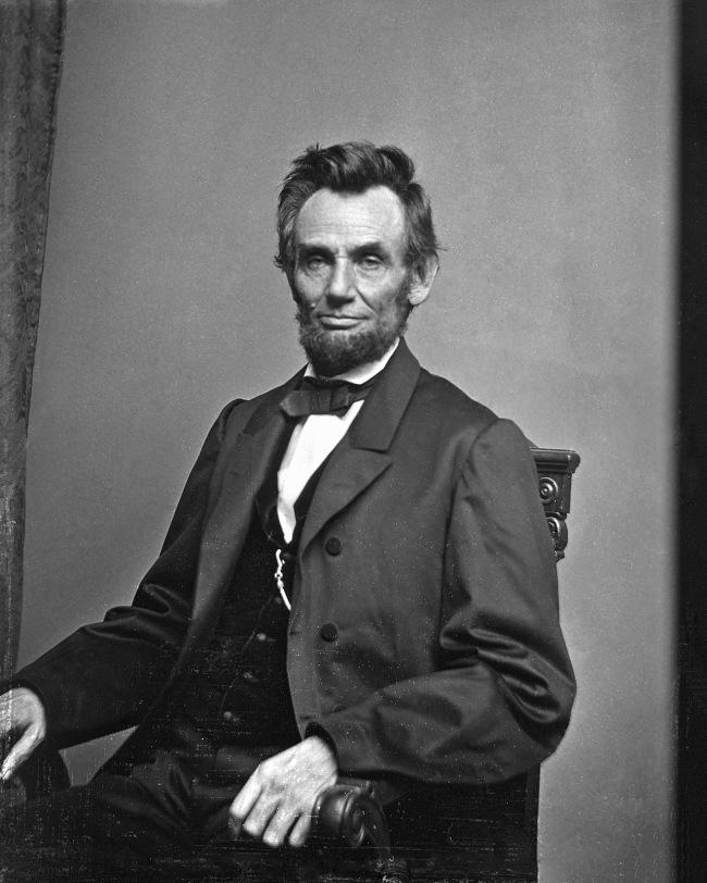 Mathew B. Brady(American, c. 1822 - 1896) 'Abraham Lincoln' January 8, 1864 Washington, DC