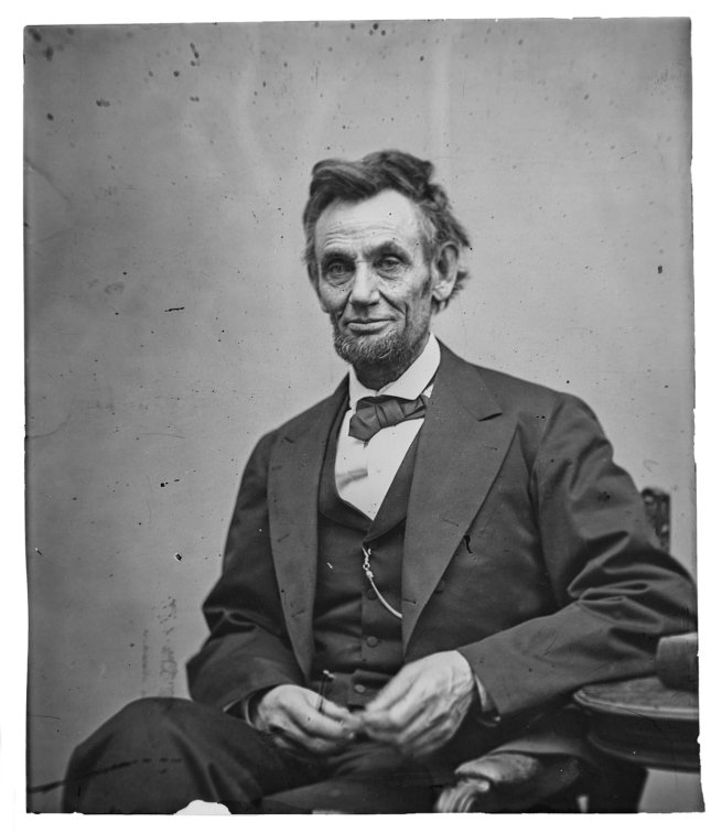 Alexander Gardner (Scottish 1821-1882; emigrated America 1856) 'Abraham Lincoln' February 5, 1865 Washington, DC