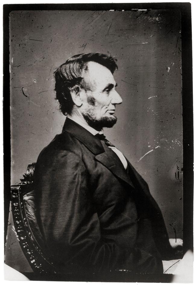 Anthony Berger. 'Abraham Lincoln' February 9, 1864 Washington, DC