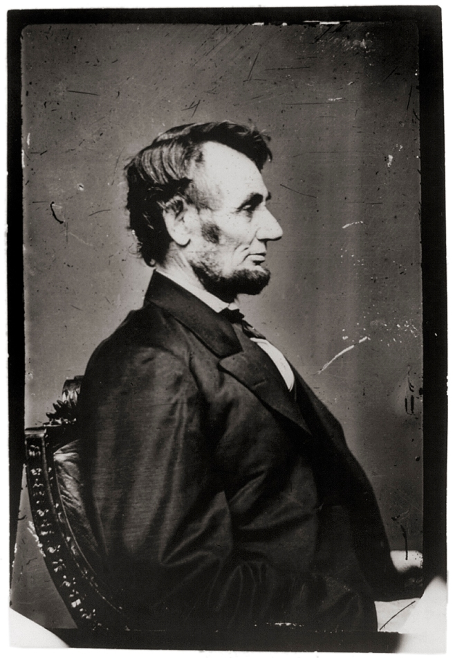 Anthony Berger. 'Abraham Lincoln' February 9, 1864 Washington, DC