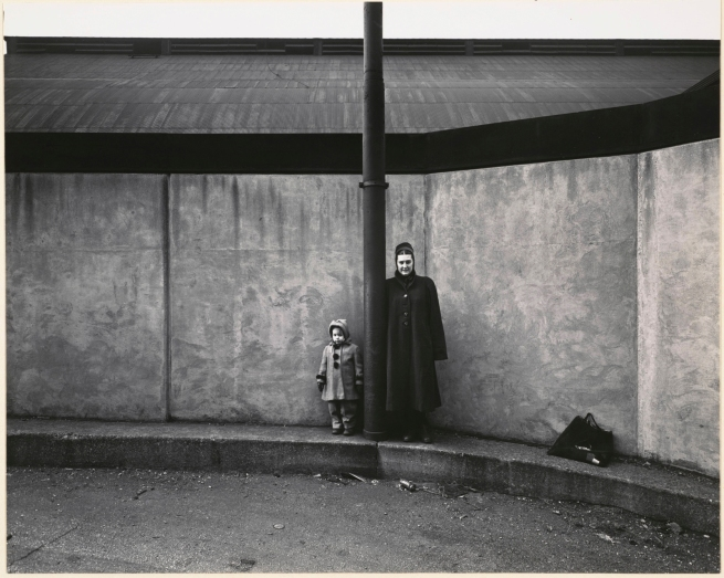 Harry Callahan (American, 1912-1999) 'Eleanor and Barbara' c. 1954
