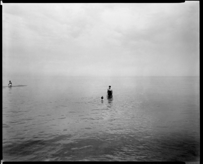 Harry Callahan (American, 1912-1999) 'Eleanor and Barbara, Lake Michigan' 1953