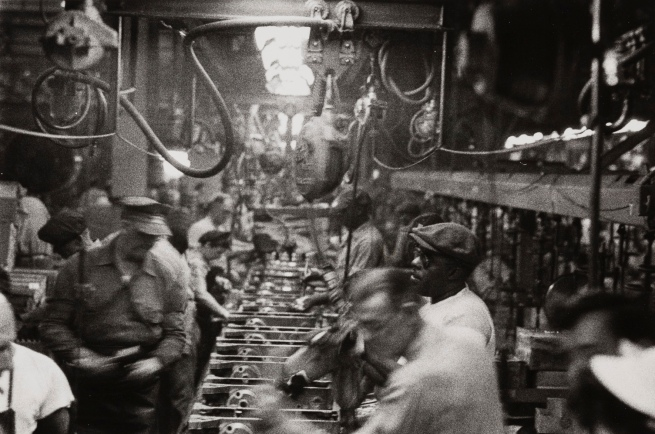 Robert Frank (Swiss-American, 1924-2019) 'Assembly Plant, Detroit' 1955