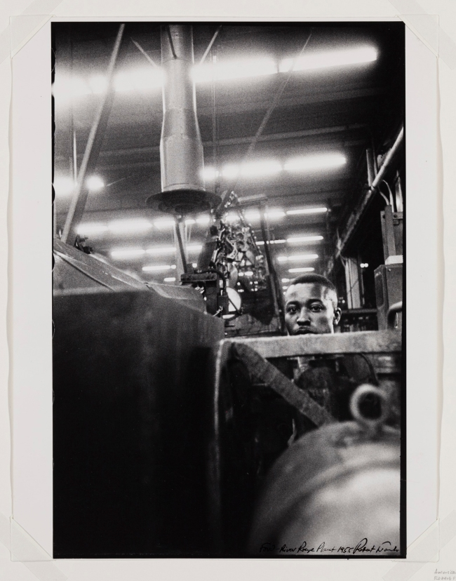 Robert Frank (Swiss-American, 1924-2019) 'Ford River Rouge Plant' 1955, printed c. 1970s