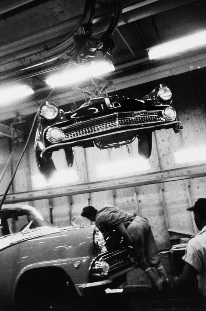 Robert Frank (Swiss-American, b. 1924) 'Assembly Plant, Ford, Detroit' 1955