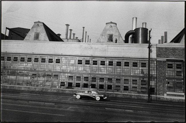 Robert Frank(Swiss-American, 1924-2019) 'Detroit River Rouge Plant' 1955
