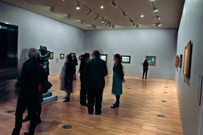 Installation view of 'European Masters: Städel Museum 19th - 20th Century', Winter Masterpieces at the National Gallery of Victoria