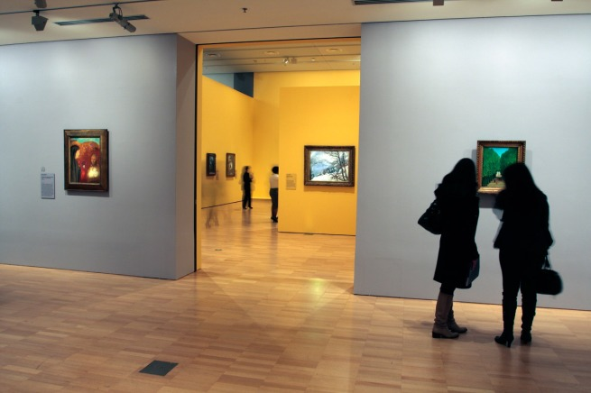 Installation view of the exhibition 'European Masters: Städel Museum 19th - 20th Century', Winter Masterpieces at the National Gallery of Victoria