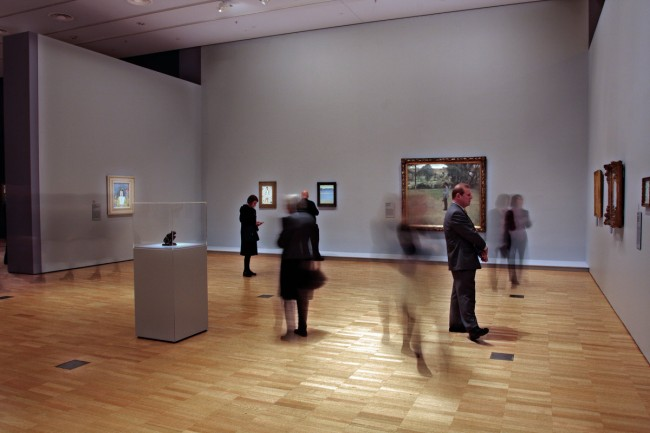 Max Beckmann room, installation view of 'European Masters: Städel Museum 19th - 20th Century', Winter Masterpieces at the National Gallery of Victoria
