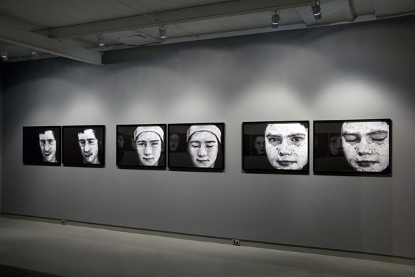 Jill Orr (Australian, b. 1952) 'Vision' installation photograph at Jenny Port Gallery