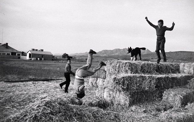 David Moore. 'Outback children, South Australia' 1963