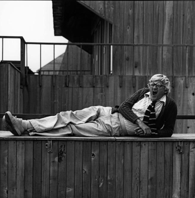 Robert Mapplethorpe. 'David Hockney' 1976 © Robert Mapplethorpe Foundation. Used by permission