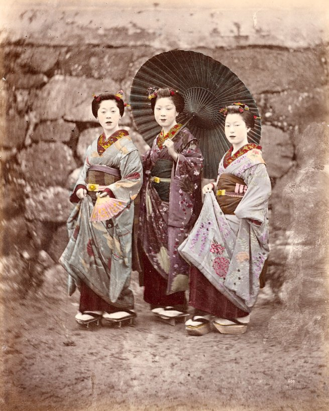 Felice Beato. 'No title (Maiko)' (1866-68, printed 1877-85)