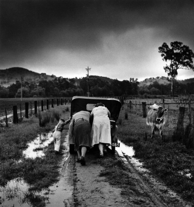 Jeff Carter (Australia, 1928-2010) 'Tobacco Road' 1956