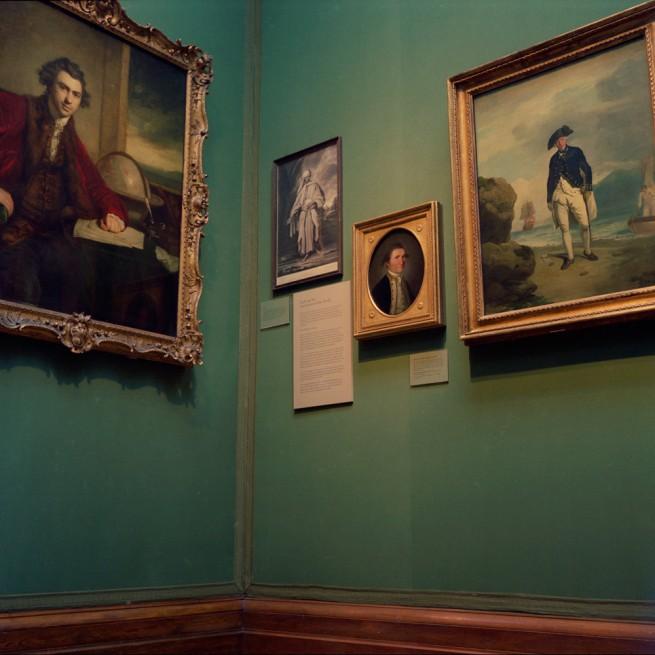 Anne Zahalka(Australian, b. 1957) 'National Portrait Gallery #3' 1992/2010