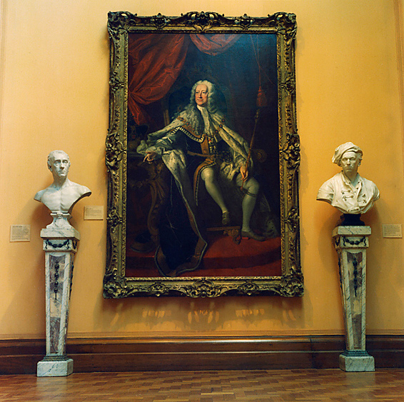 Anne Zahalka(Australian, b. 1957) 'National Portrait Gallery #5' 2010