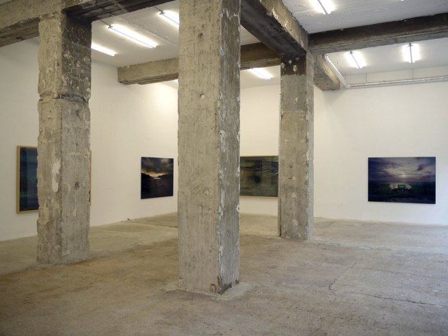 'Open Landscape' exhibition view at Galerie Wagner + Partner, 2010