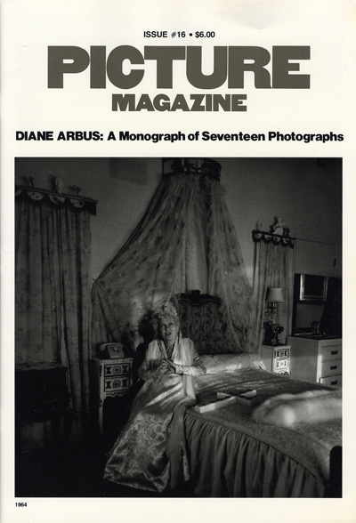 Picture Magazine #16. Diane Arbus: A Monograph of Seventeen Photographs. 1964