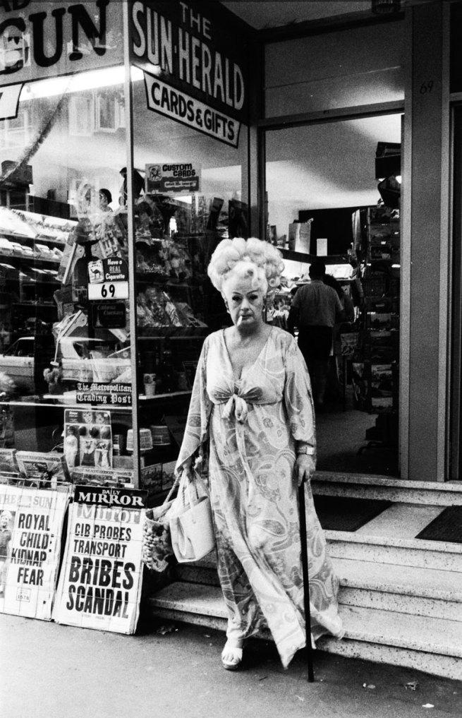 Rennie Ellis (Australia, 1940-2003) 'Auntie Mame, Kings Cross' 1970-71