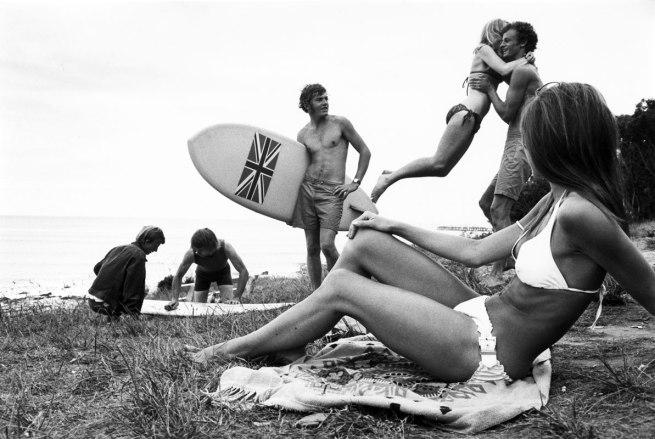 Rennie Ellis (Australia, 1940-2003) 'Union Jack, Lorne' c. 1968
