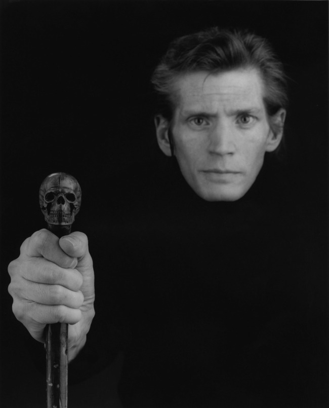 Robert Mapplethorpe. 'Self Portrait' 1988 © Robert Mapplethorpe Foundation. Used by permission