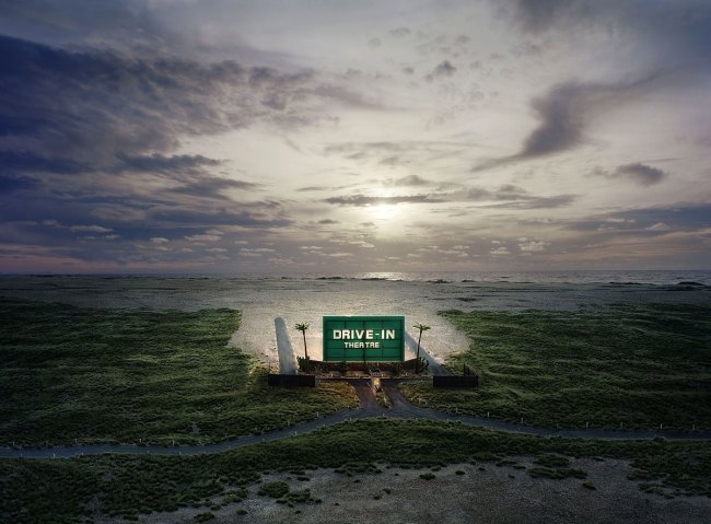 Thomas Wrede (German, b. 1963) 'Drive In Theatre' 2009
