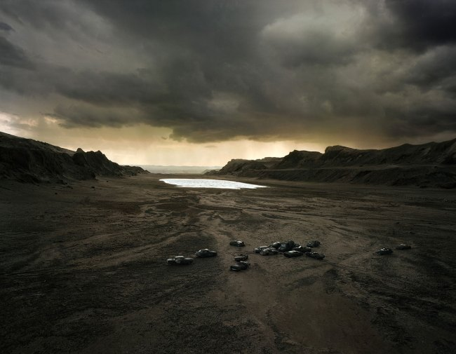 Thomas Wrede (German, b. 1963) 'In the Tertiary Valley' 2008