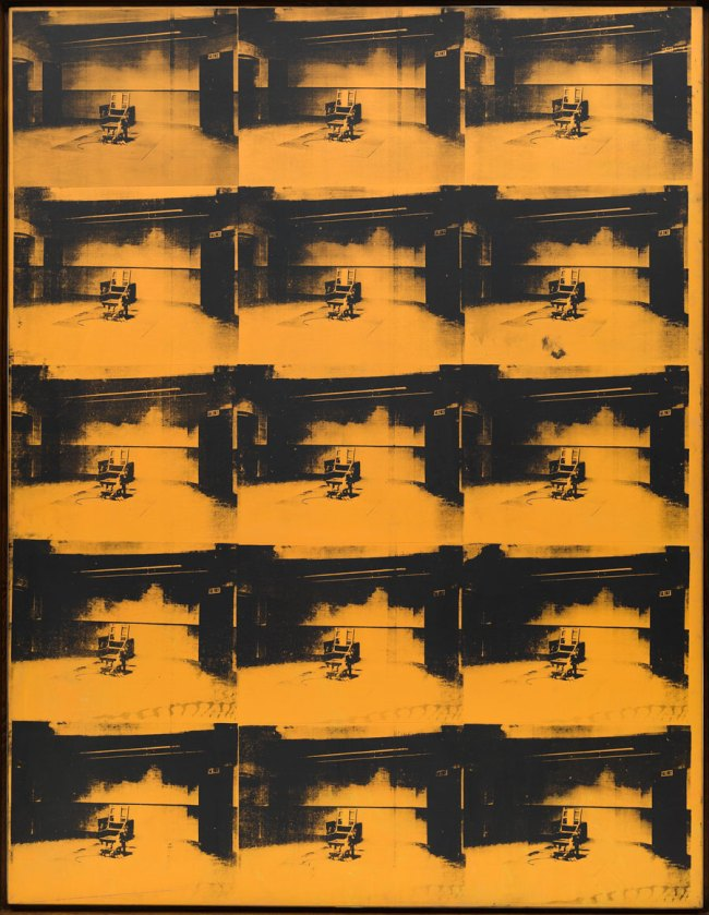 Andy Warhol. 'Orange Disaster #5' 1963
