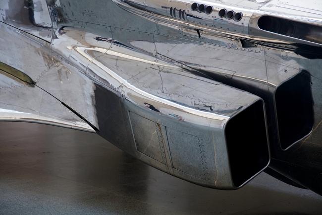 Fiona Banner 'Harrier and Jaguar' (Jaguar detail) 2010