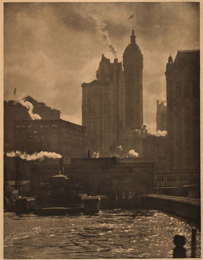 Alfred Stieglitz. 'City of ambition' 1911