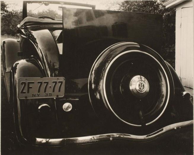 Alfred Stieglitz. 'Ford V-8' 1935