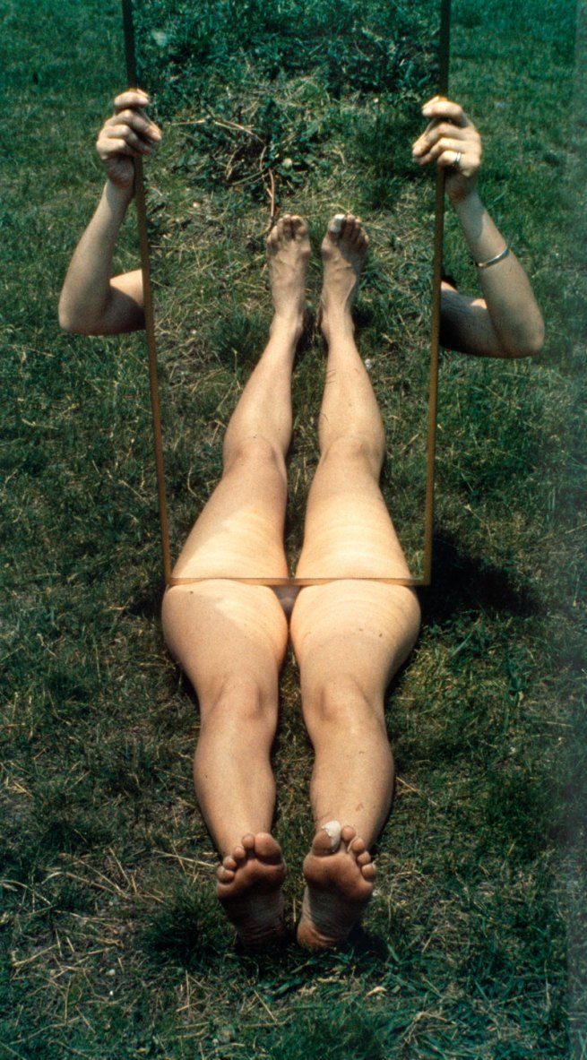 Joan Jonas. 'Mirror Piece I' 1969