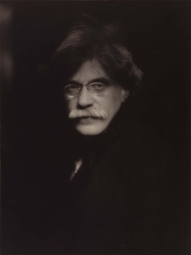 Alfred Stieglitz. 'Self-portrait' 1907, printed 1930