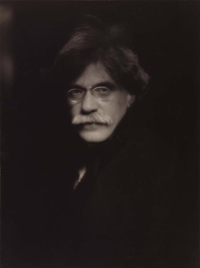 Alfred Stieglitz. 'Self-portrait' 1907, printed 1930