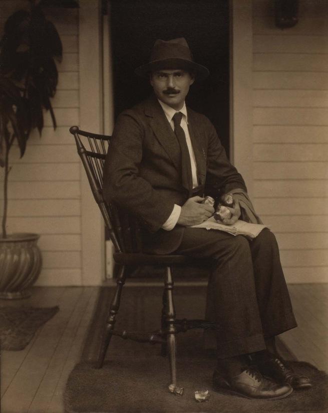 Alfred Stieglitz. 'Waldo Frank' 1920