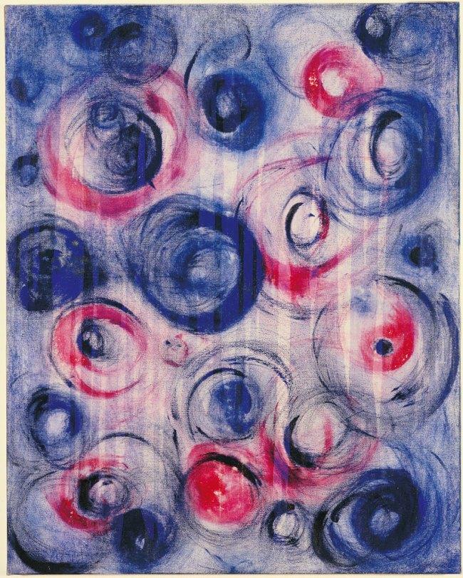 Yves Klein. 'La Vent du voyage' (The Wind of the Journey) c. 1961