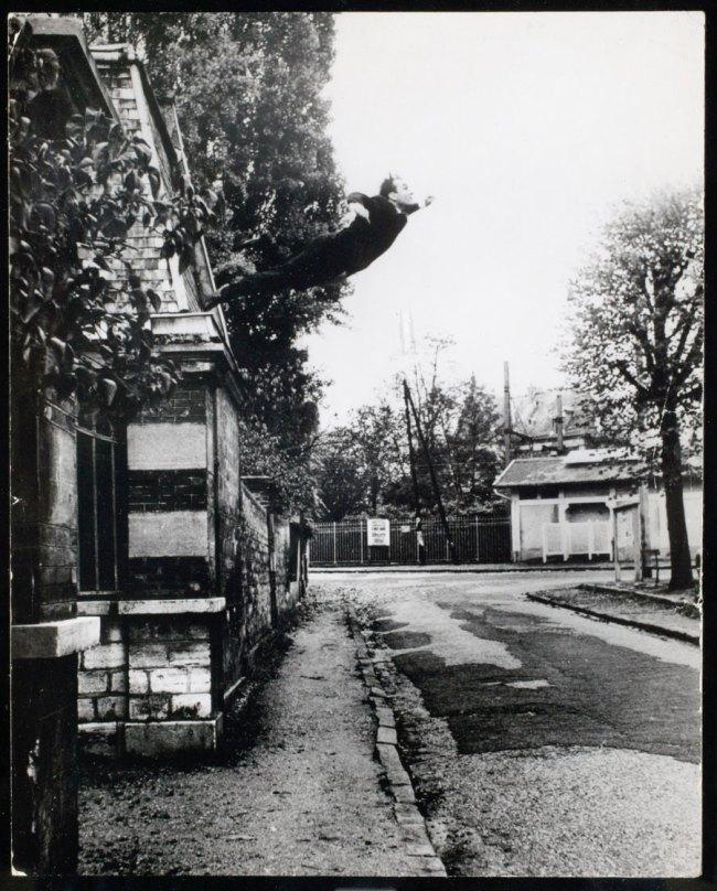 Yves Klein. 'Le Saut dans le Vide' (Leap into the Void) 1960