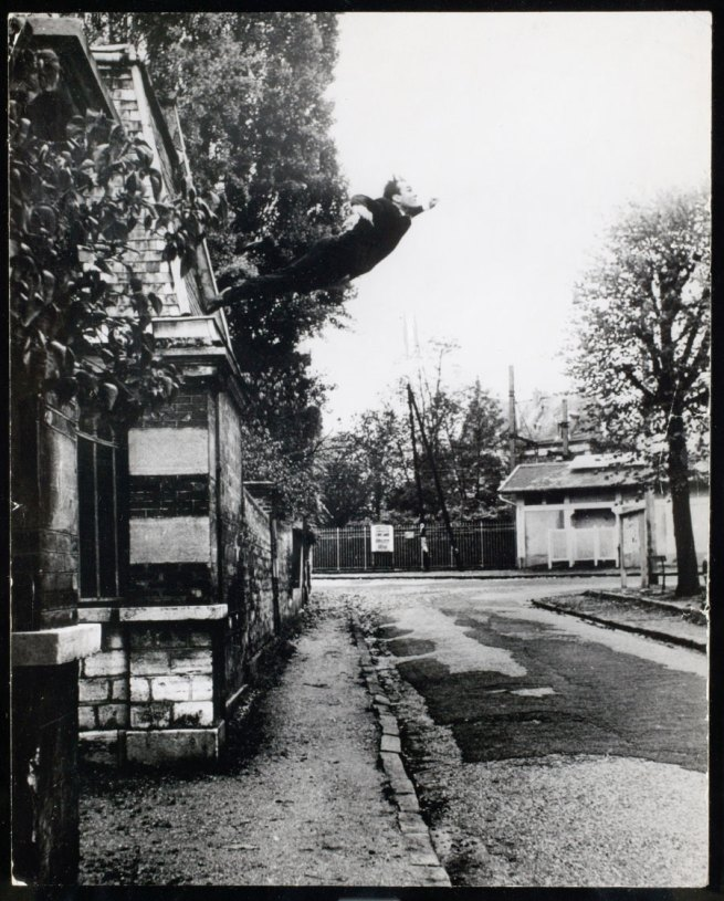 Yves Klein. 'Le Saut dans le Vide' (Leap into the Void) 1960