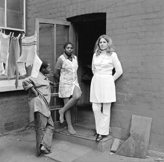 David Goldblatt. 'Three women at 39 Soper Road, Berea, Johannesburg, May 1972'