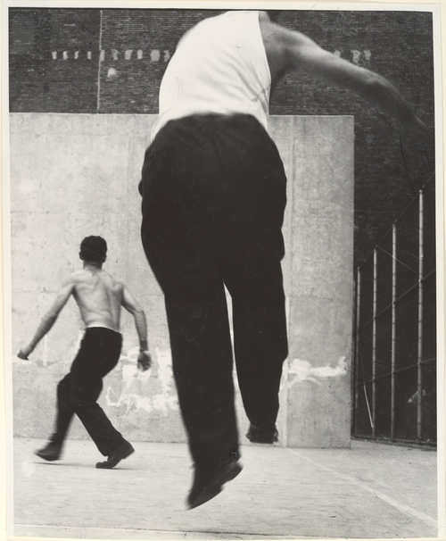 Leon Levinstein. 'Handball Players, Lower East Side, NY' 1950s-1960s
