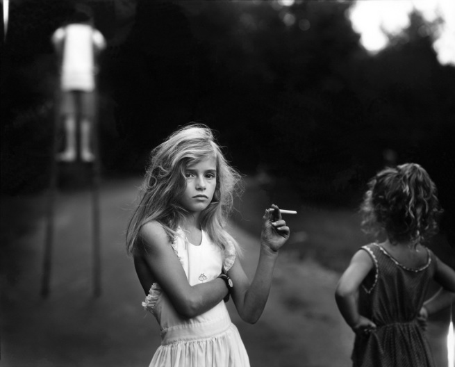 Sally Mann. 'Candy Cigarette' 1989