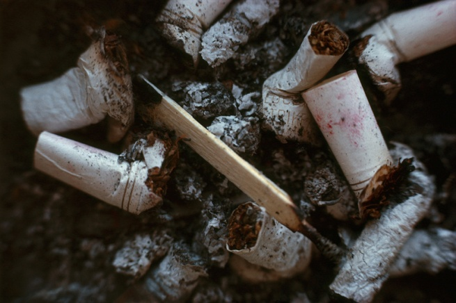 Pete Turner. 'Cigarette Butts' 1963, printed early 1970s