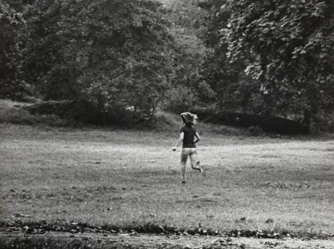 Ron Galella (American, b. 1931) 'What Makes Jackie Run? Central Park, New York City, October 4, 1971' 1971